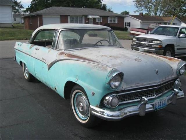 1955 Ford Victoria (CC-1376713) for sale in Cadillac, Michigan