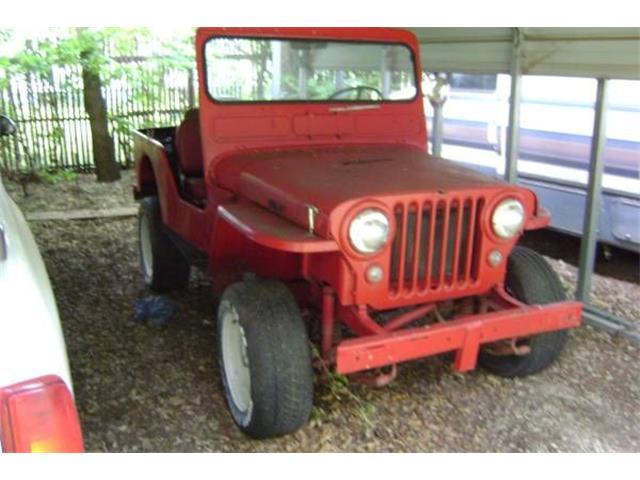 1950 Jeep CJ (CC-1376940) for sale in Cadillac, Michigan