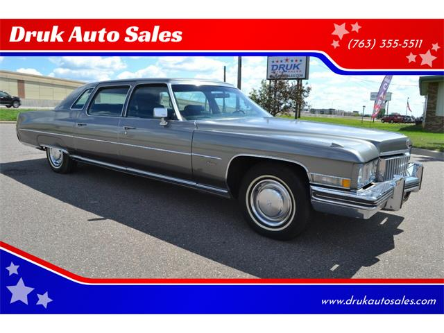 1973 Cadillac Fleetwood (CC-1377145) for sale in Ramsey, Minnesota
