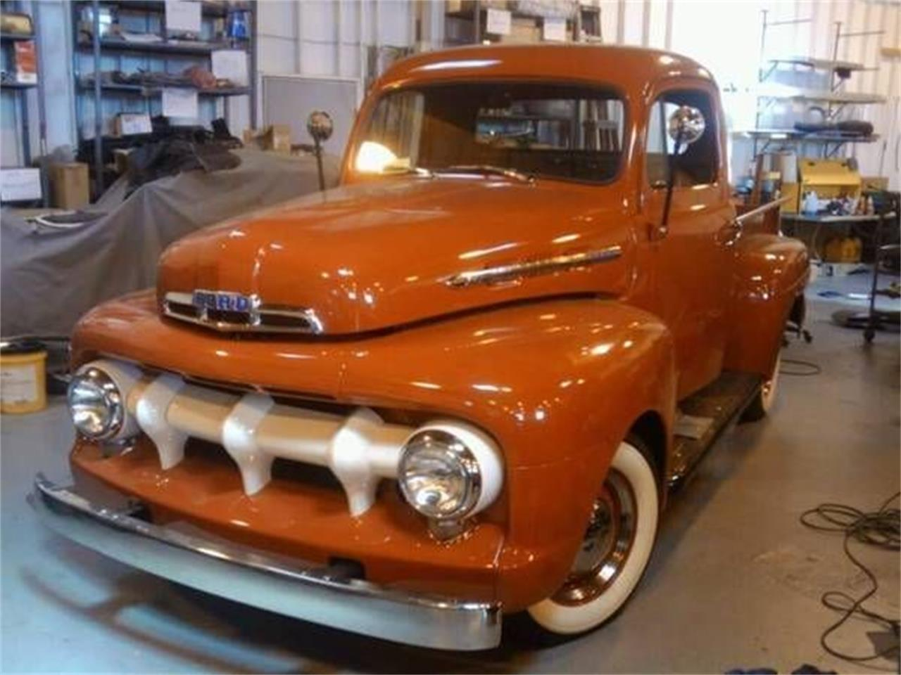 1951 Ford F1 (CC-1377149) for sale in Cadillac, Michigan