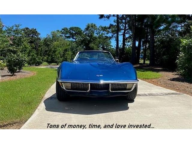 1970 Chevrolet Corvette (CC-1377156) for sale in WILMINGTON, North Carolina