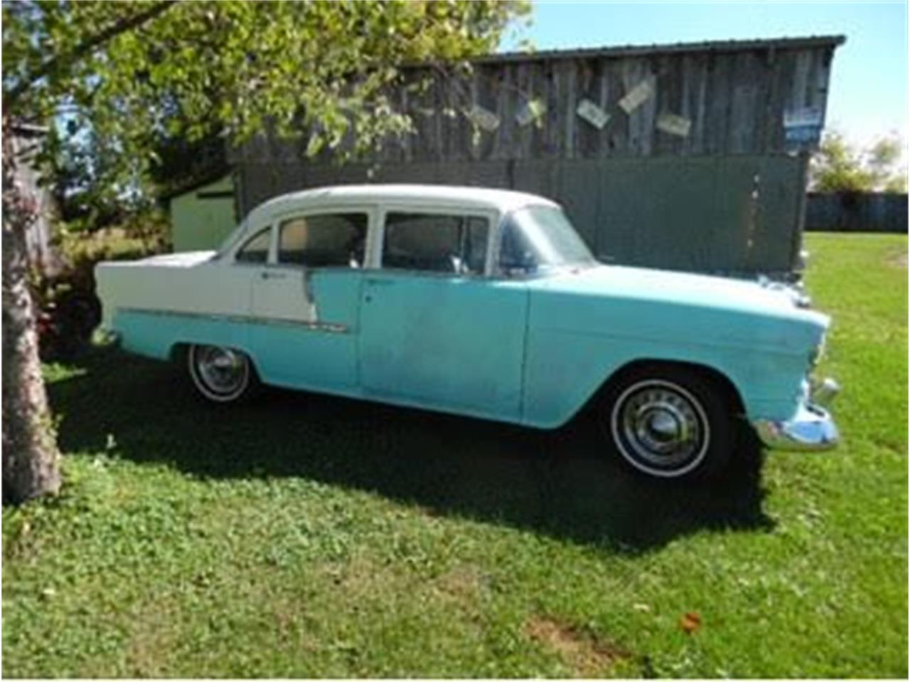 1955 Chevrolet 4-Dr Sedan (CC-1377180) for sale in Cadillac, Michigan