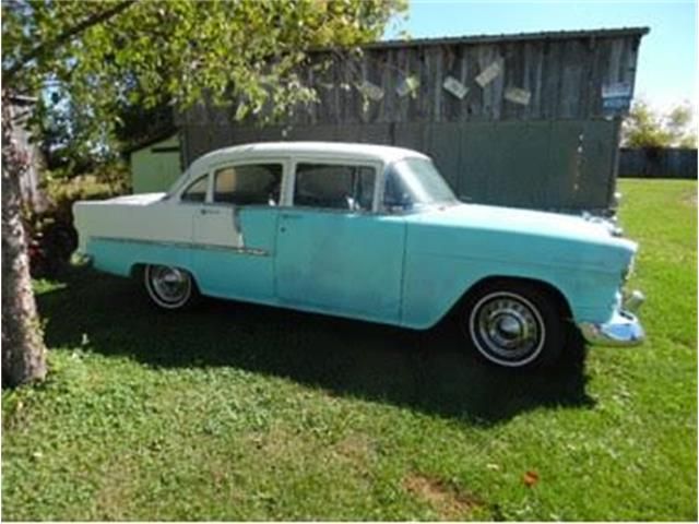 1955 Chevrolet 4-Dr Sedan (CC-1377180) for sale in Cadillac, Michigan