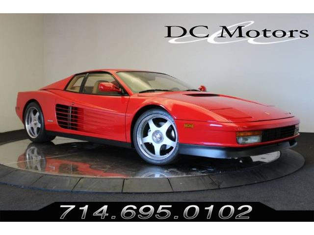 1985 Ferrari Testarossa (CC-1377181) for sale in Anaheim, California