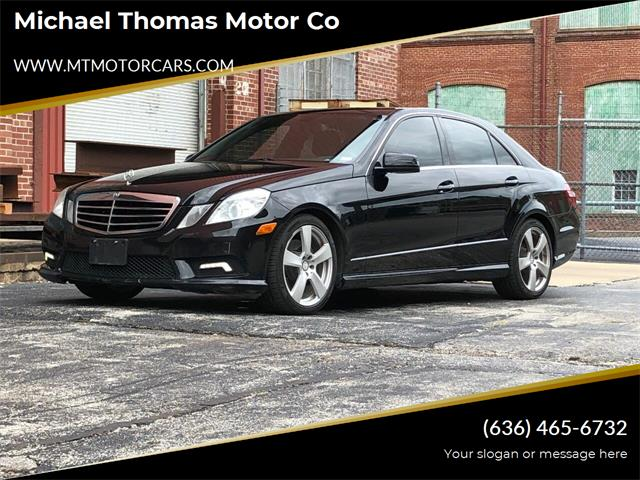 2011 Mercedes-Benz E-Class (CC-1377218) for sale in Saint Charles, Missouri