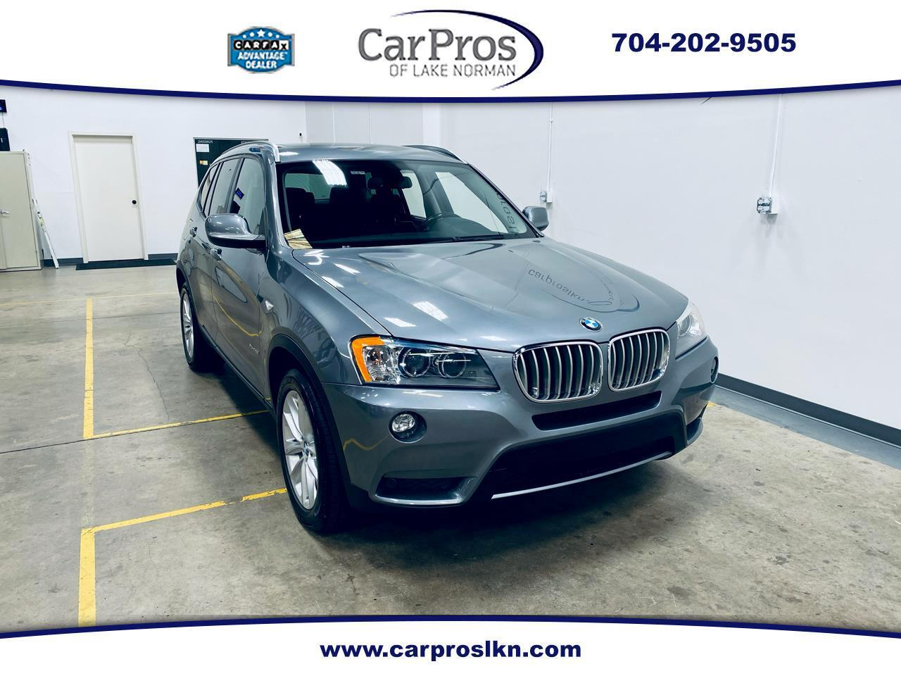 2013 BMW X3 (CC-1377361) for sale in Mooresville, North Carolina