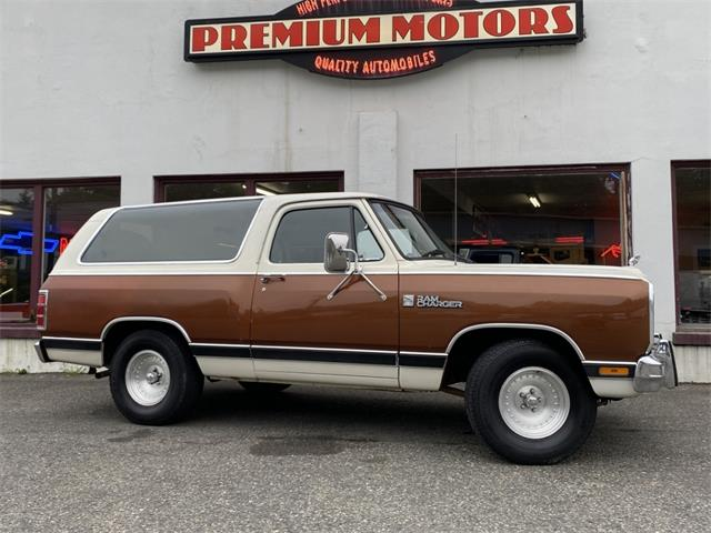 1984 Dodge Ramcharger (CC-1377366) for sale in Tocoma, Washington
