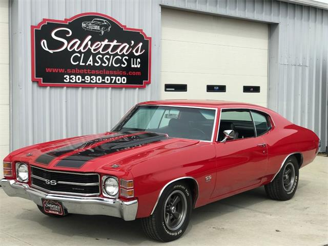 1971 Chevrolet Chevelle SS (CC-1377405) for sale in Orville, Ohio