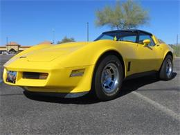 1981 Chevrolet Corvette (CC-1377477) for sale in Cadillac, Michigan