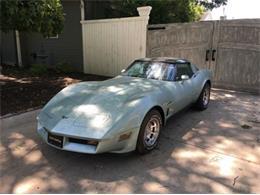 1982 Chevrolet Corvette (CC-1377540) for sale in Cadillac, Michigan