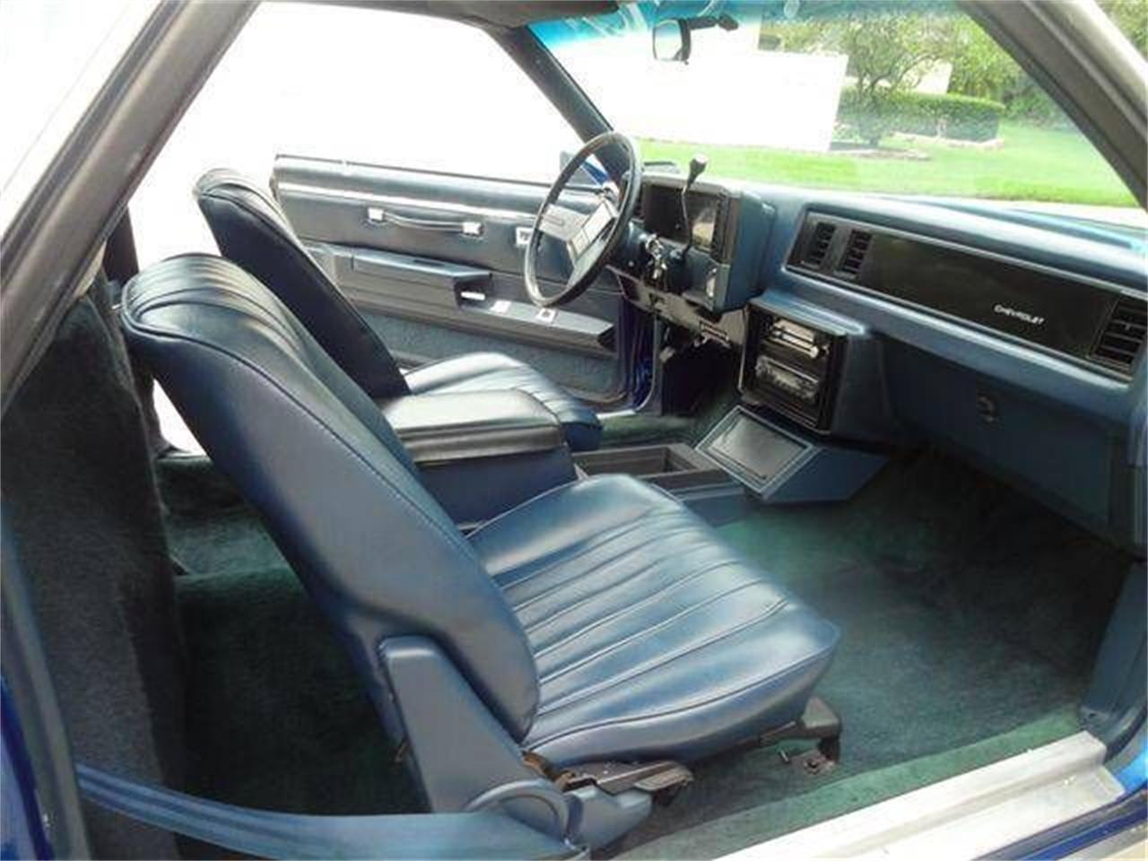 1986 Chevrolet El Camino (CC-1377556) for sale in Cadillac, Michigan