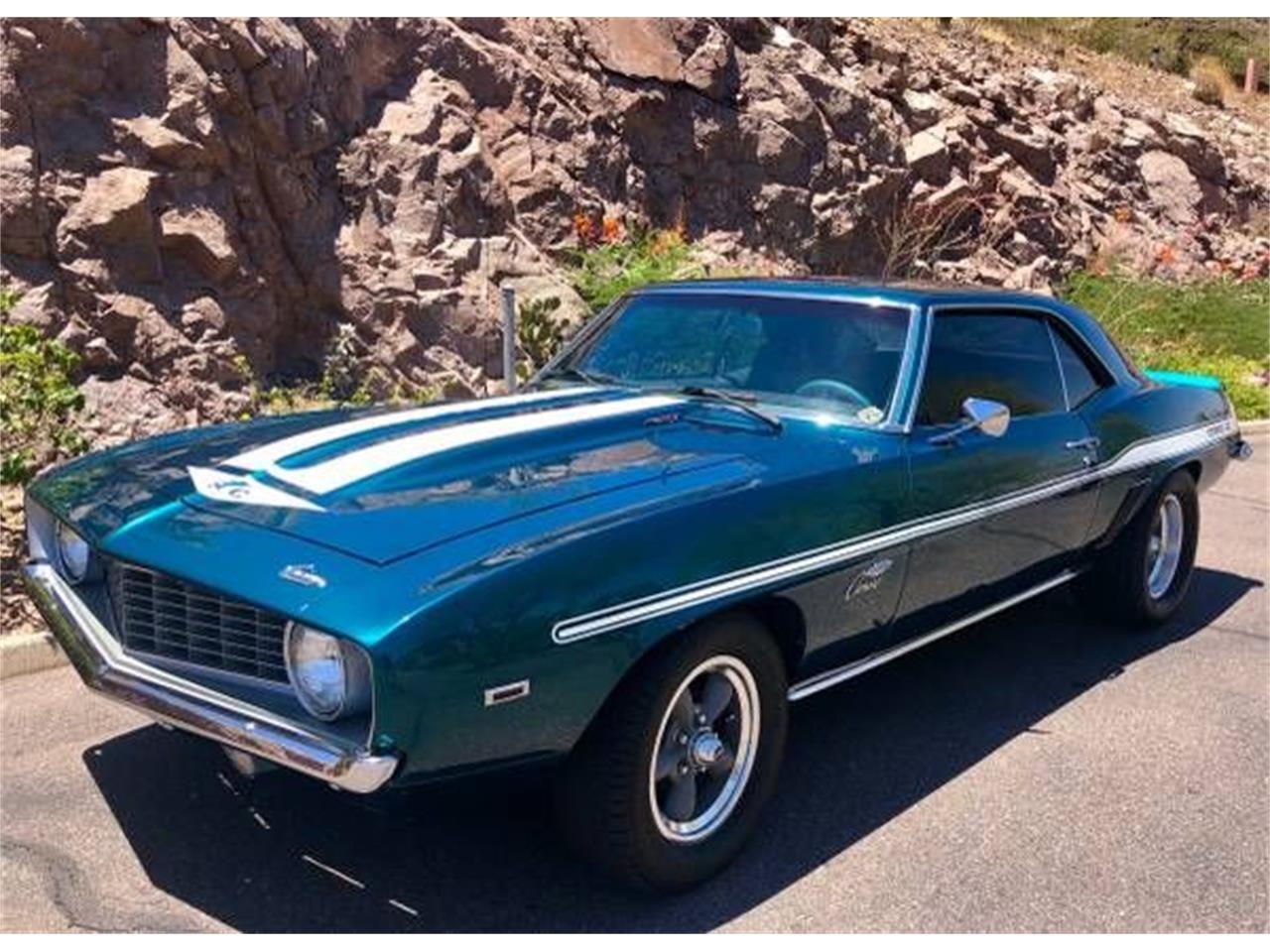 1969 Chevrolet Camaro (CC-1377600) for sale in Cadillac, Michigan