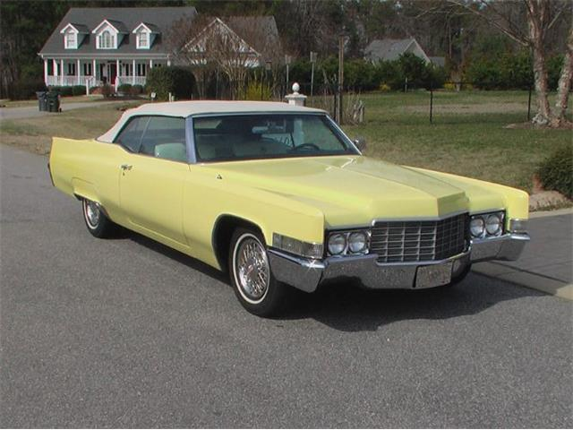 1969 Cadillac Convertible (CC-1377693) for sale in Cadillac, Michigan