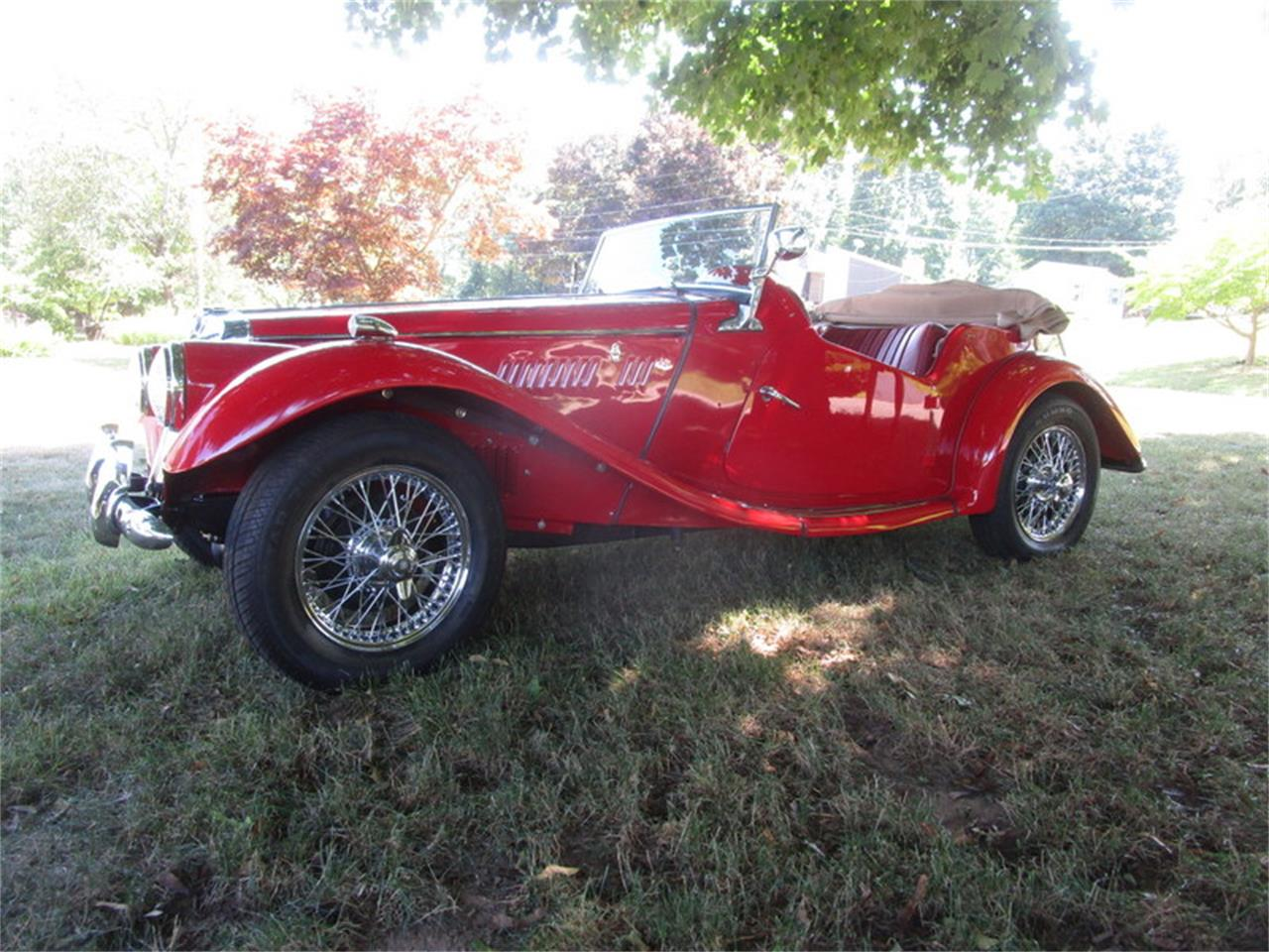 1955 MG TF (CC-1377731) for sale in Meriden, Connecticut