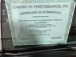 1969 Chevrolet Camaro (CC-1377770) for sale in Addison, Illinois