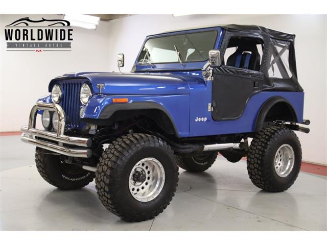 1977 Jeep CJ5 (CC-1377928) for sale in Denver , Colorado