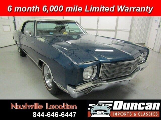 1970 Chevrolet Monte Carlo (CC-1378117) for sale in Christiansburg, Virginia