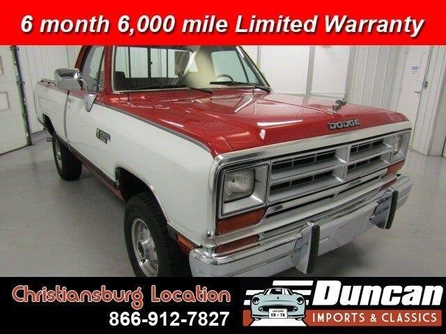 1989 Dodge Ram (CC-1378129) for sale in Christiansburg, Virginia