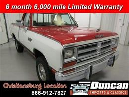 1989 Dodge Ram (CC-1378129) for sale in Christiansburg, Virginia