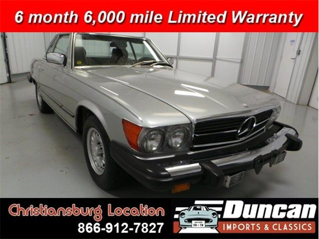 1982 Mercedes-Benz 380 (CC-1378145) for sale in Christiansburg, Virginia