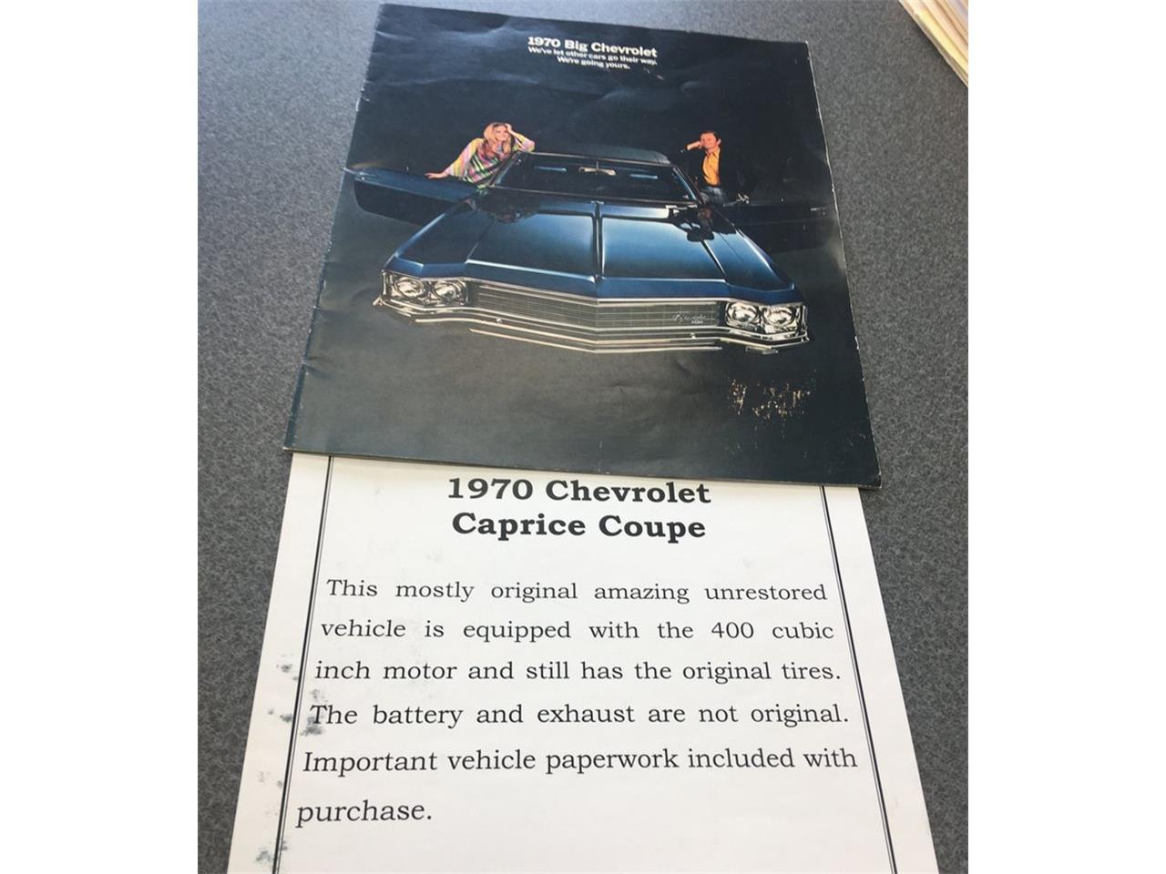 1970 Chevrolet Caprice (CC-1378151) for sale in Christiansburg, Virginia