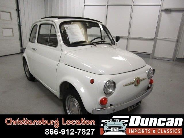1966 Fiat 500 (CC-1378361) for sale in Christiansburg, Virginia