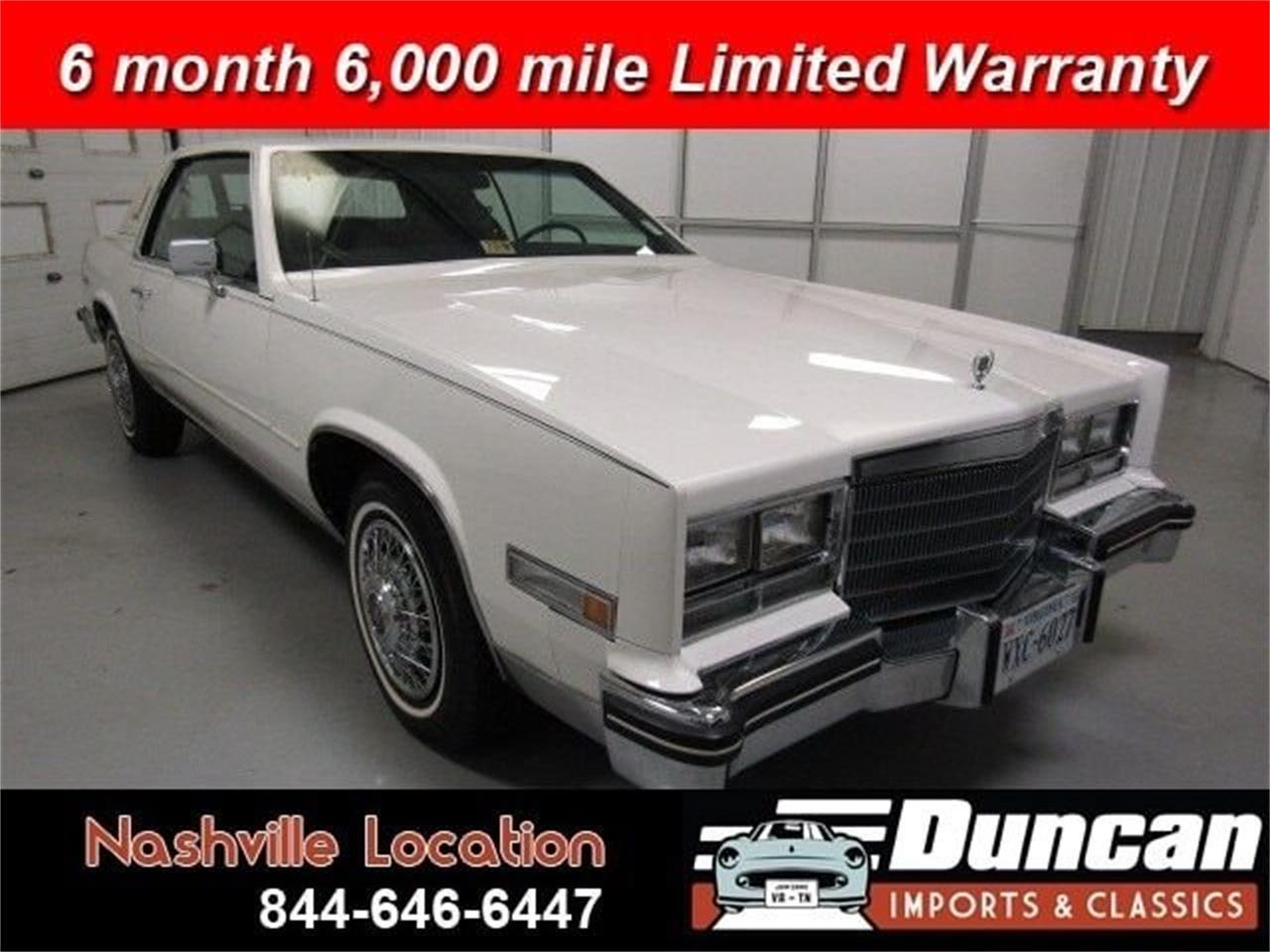 1985 Cadillac Eldorado (CC-1378398) for sale in Christiansburg, Virginia
