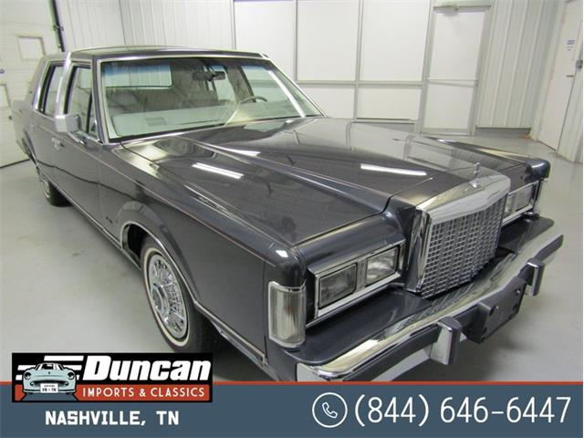 1985 Lincoln Town Car (CC-1378422) for sale in Christiansburg, Virginia