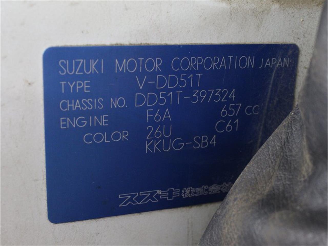 1995 Suzuki Carry (CC-1378441) for sale in Christiansburg, Virginia