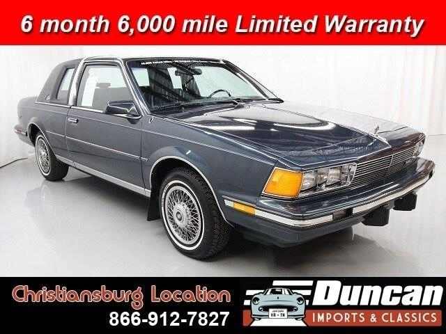 1987 Buick Century (CC-1378575) for sale in Christiansburg, Virginia