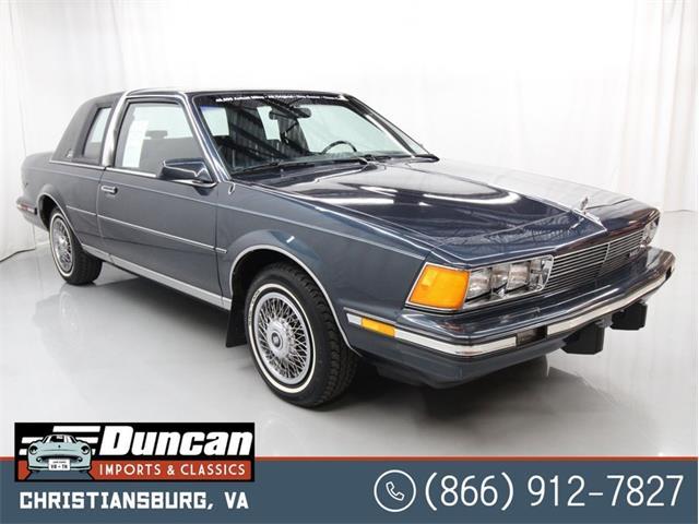 1987 Buick Century (CC-1378575) for sale in Christiansburg, Virginia