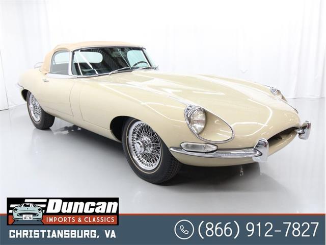 1968 Jaguar E-Type (CC-1378588) for sale in Christiansburg, Virginia