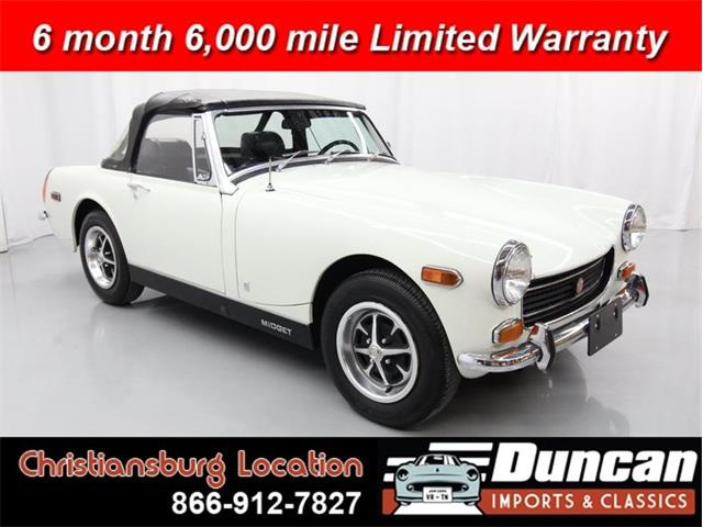 1972 MG Midget (CC-1378615) for sale in Christiansburg, Virginia