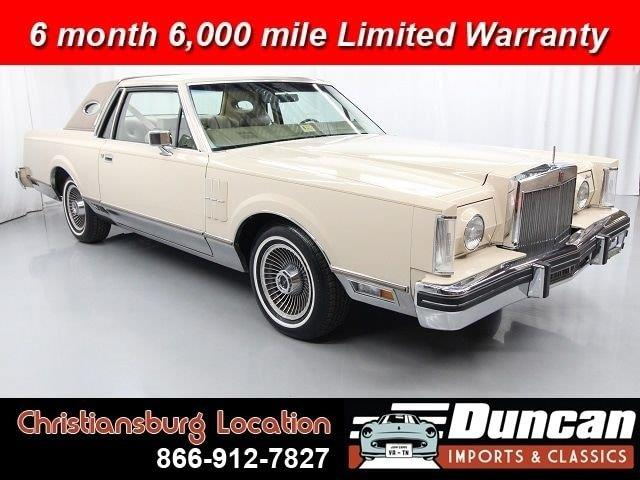 1980 Lincoln Mark V (CC-1378622) for sale in Christiansburg, Virginia