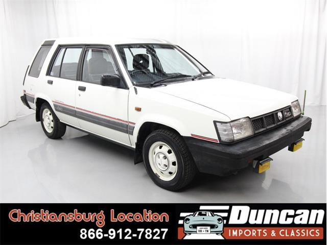 1987 Toyota Sprinter (CC-1378663) for sale in Christiansburg, Virginia