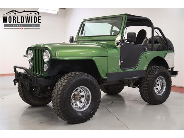 1973 Jeep CJ5 (CC-1378861) for sale in Denver , Colorado