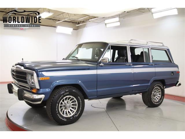 1988 Jeep Wagoneer (CC-1378866) for sale in Denver , Colorado