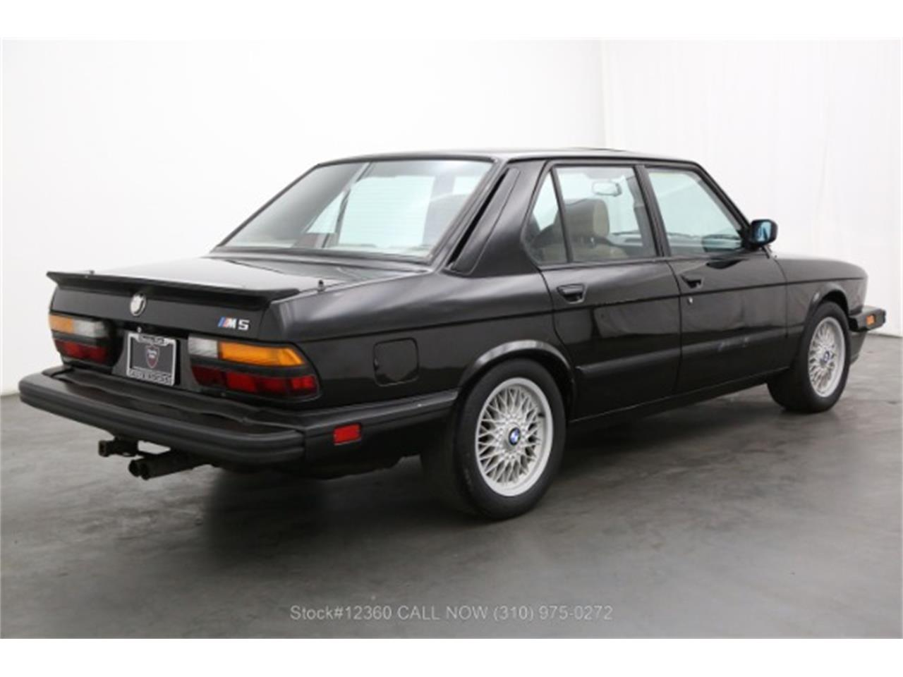 1988 BMW M5 (CC-1378897) for sale in Beverly Hills, California