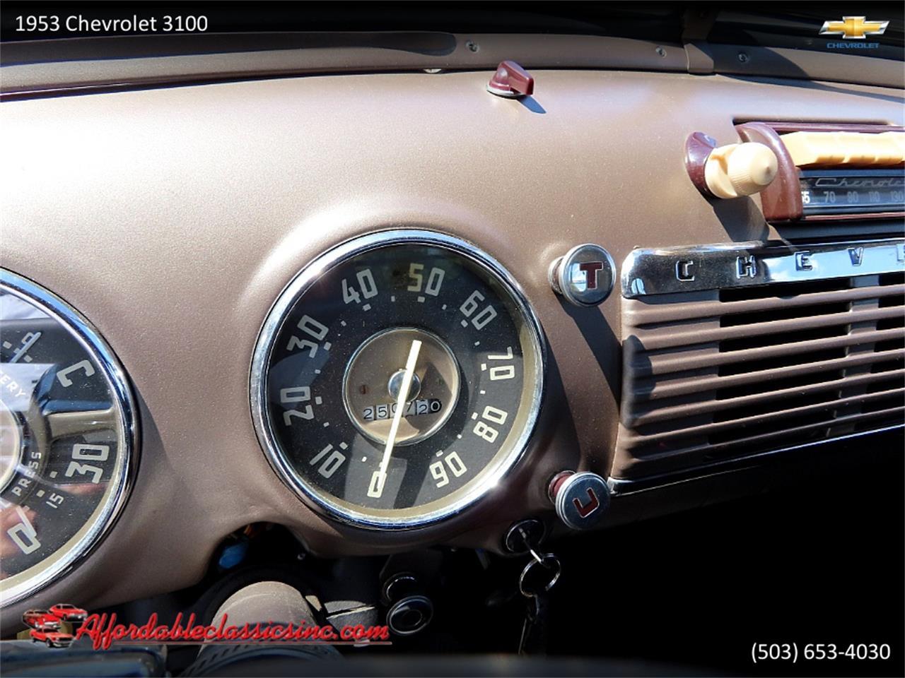 1953 Chevrolet 3100 (CC-1378960) for sale in Gladstone, Oregon