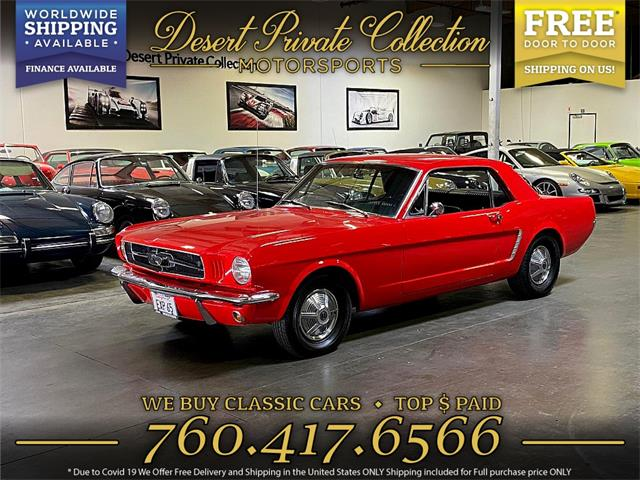 1965 Ford Mustang (CC-1378996) for sale in Palm Desert , California