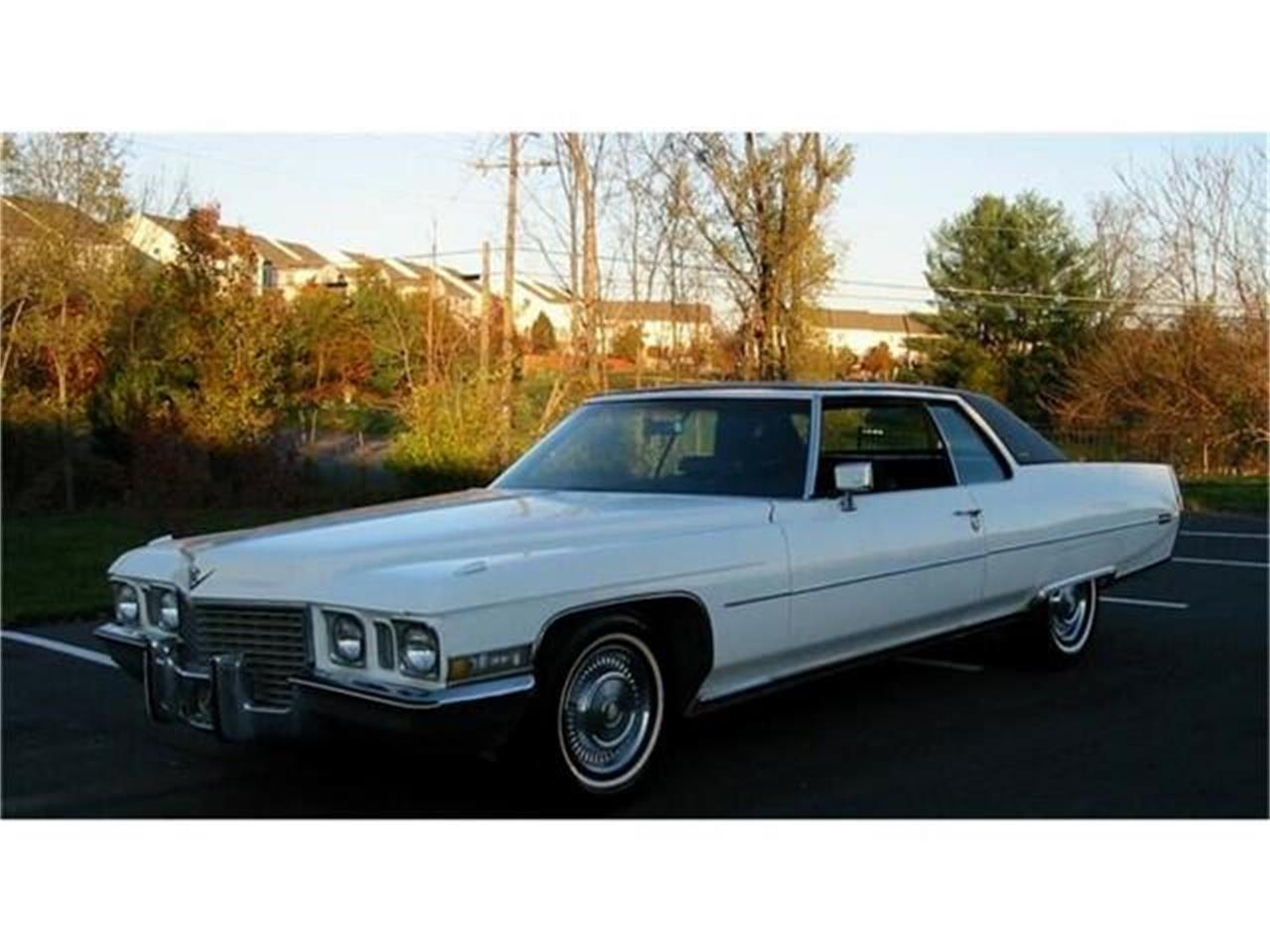 1972 Cadillac Coupe DeVille (CC-1379307) for sale in Harpers Ferry, West Virginia