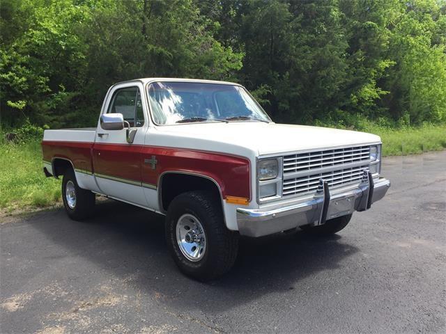 1984 Chevrolet K-10 (CC-1379401) for sale in Montfort, Wisconsin