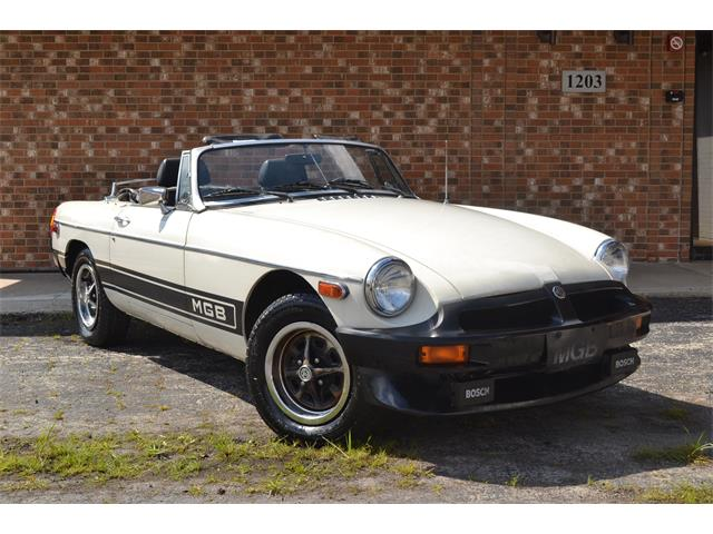 1980 MG MGB (CC-1379412) for sale in Barrington, Illinois