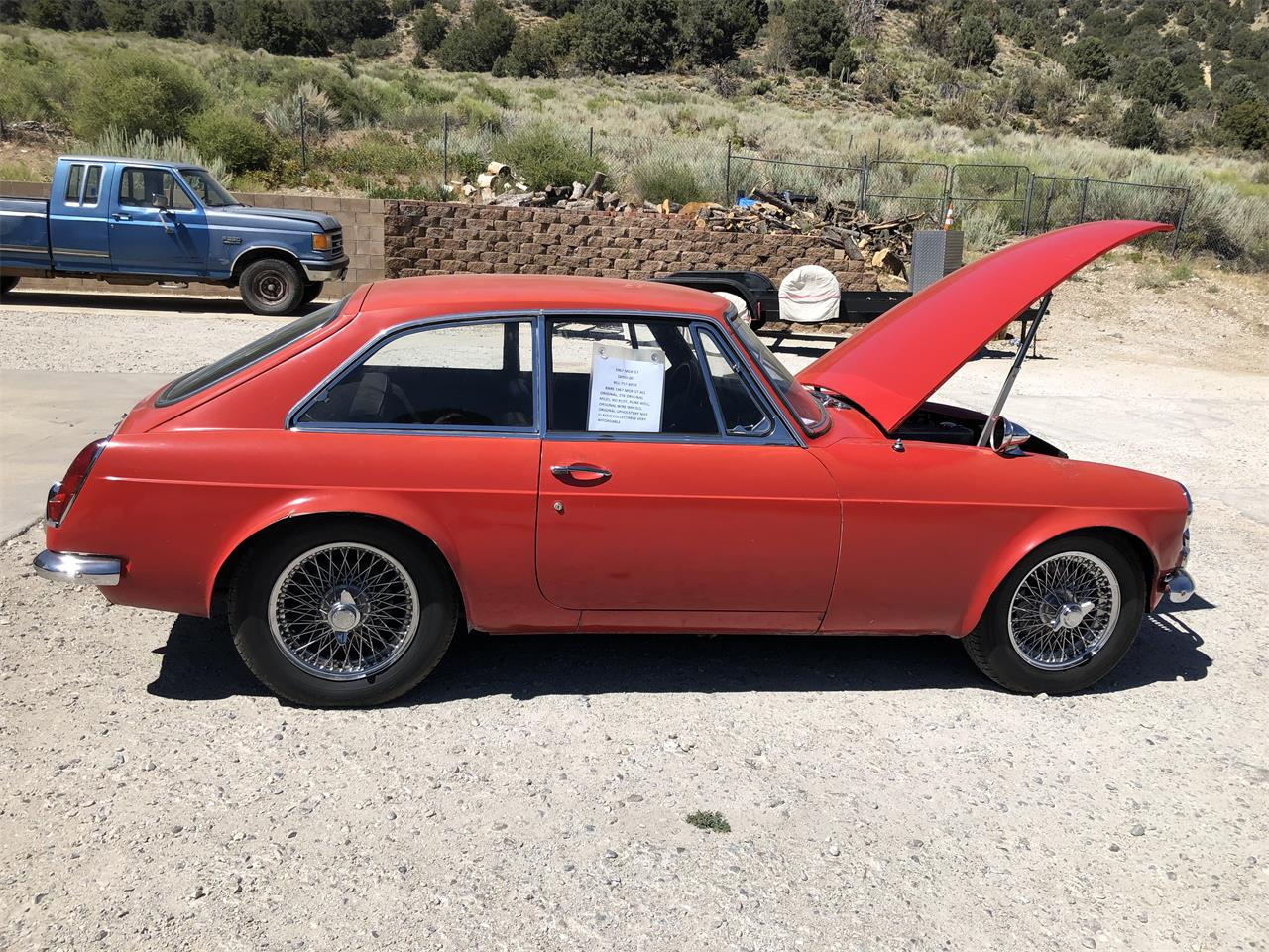 1967 MG MGB GT (CC-1379415) for sale in Wrightwood, California