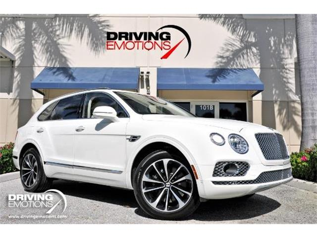 2017 Bentley Bentayga (CC-1379487) for sale in West Palm Beach, Florida