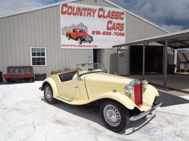 1950 MG TD (CC-1379774) for sale in Staunton, Illinois