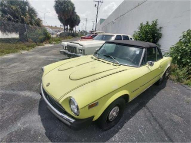 1978 Fiat Spider (CC-1381024) for sale in Miami, Florida