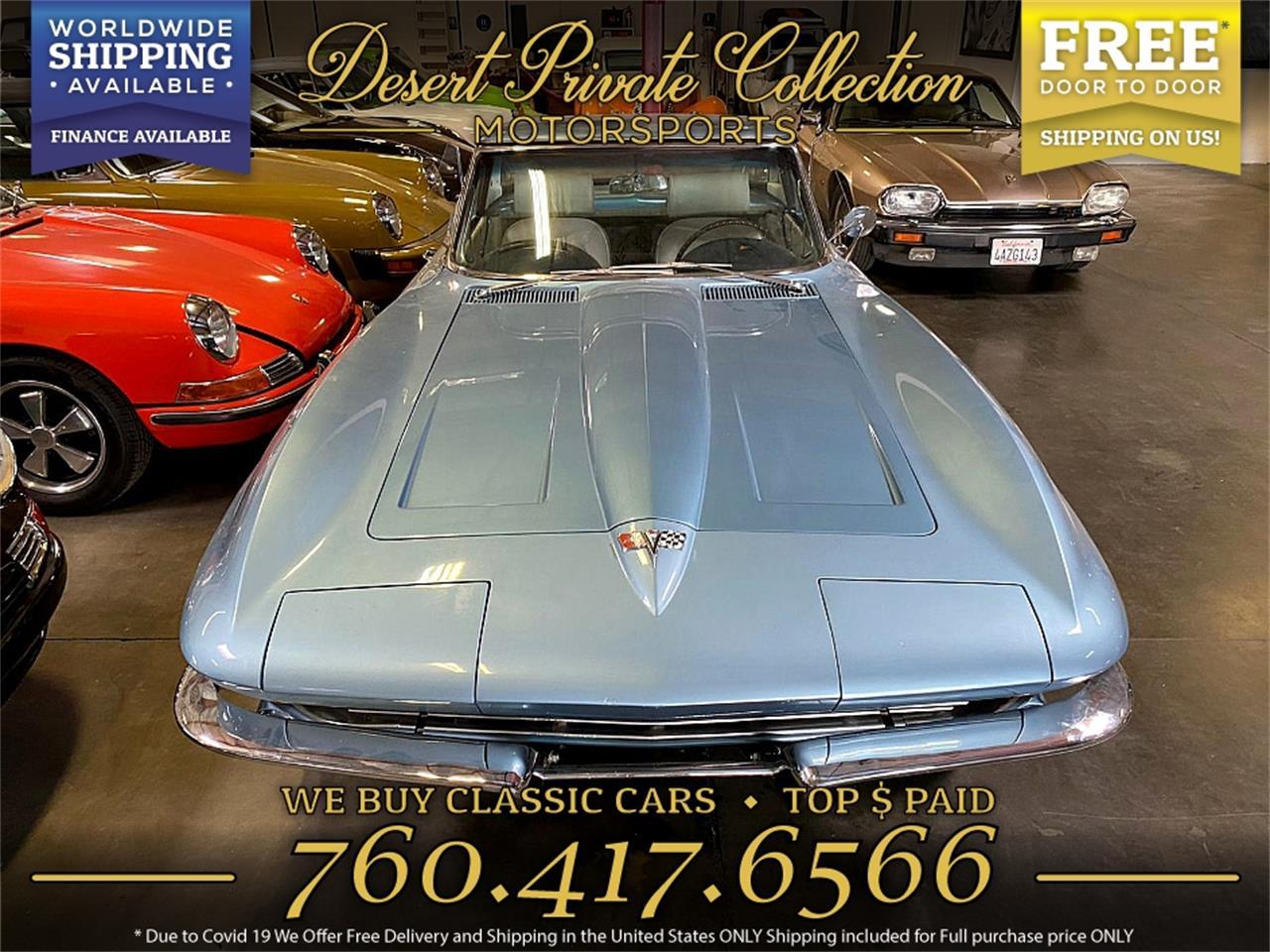 1964 Chevrolet Corvette (CC-1381107) for sale in Palm Desert , California