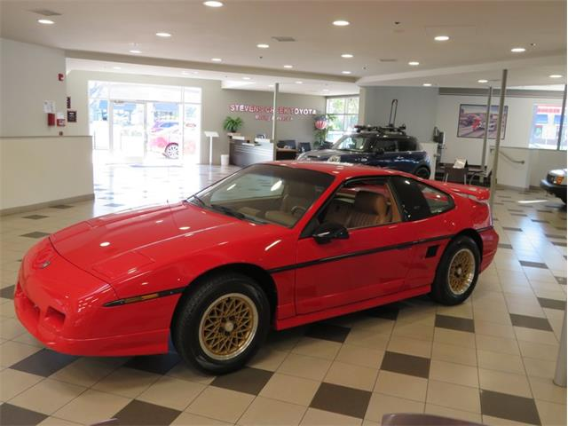 1988 Pontiac Fiero (CC-1381185) for sale in San Jose, California