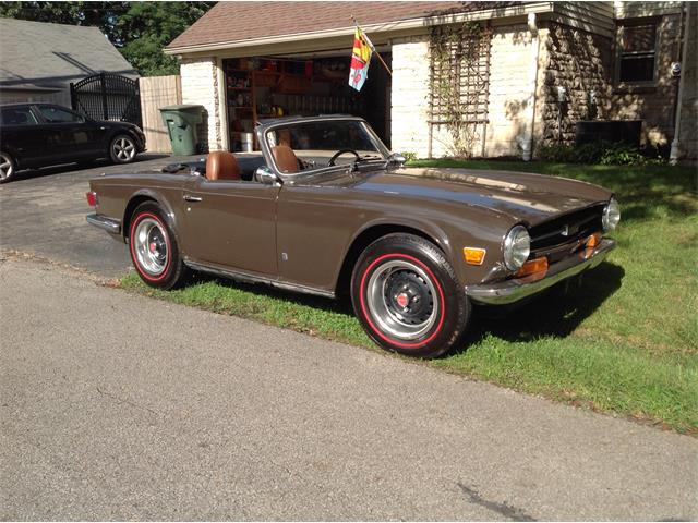 1972 Triumph TR6 (CC-1381262) for sale in Columbus , Ohio